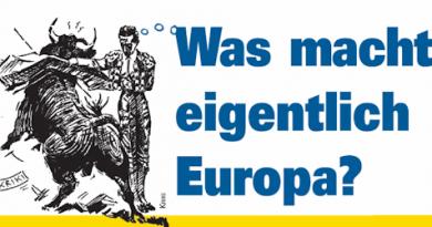 Die Europawahl – Eine Wahl für Europa