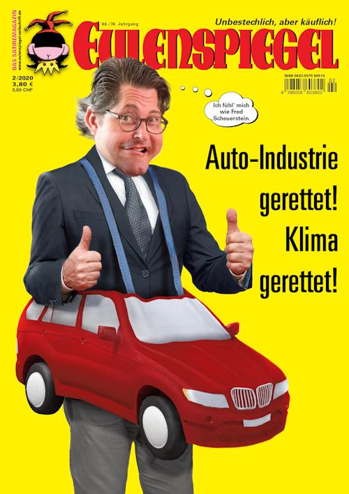 Zeitschrift Eulenspiegel, Ausgabe Januar 2020