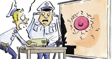 Nicht dümmer, als die Polizei erlaubt